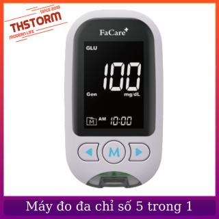 Máy đo đa thông số FaCare M168, đo đường huyết, mỡ máu, acid uric, ketone, lactate THStorm thumbnail
