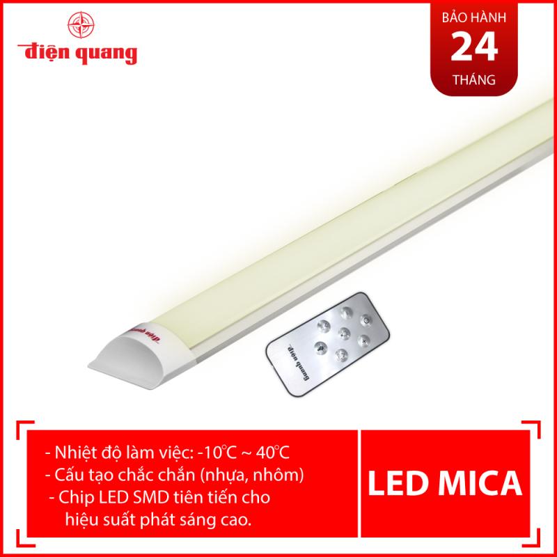 Bộ đèn LED MICA SMART Điện Quang ĐQ LED MF02RF 367CCT (36W, điều chỉnh độ sáng và nhiệt độ màu, có remote, nhôm nhựa)