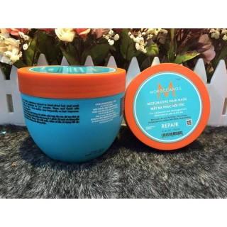 Hấp dầu viền vàng Moroccanoil Restorative Hair Mask 500ml dành cho tóc yếu và hư tổn thumbnail
