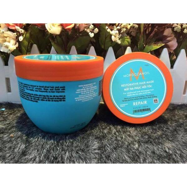 Hấp dầu viền vàng Moroccanoil Restorative Hair Mask  500ml dành cho tóc yếu và hư tổn