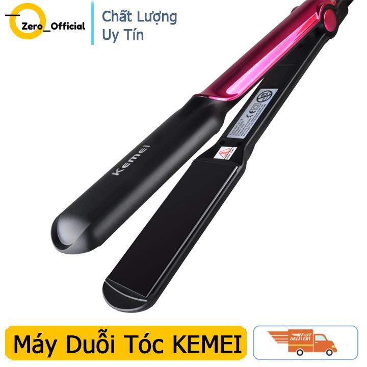 Máy kẹp thẳng tóc KEMEI 2113 với 4 mức chỉnh nhiệt, máy duỗi tóc giúp bạn duỗi tóc dễ dàng tại nhà