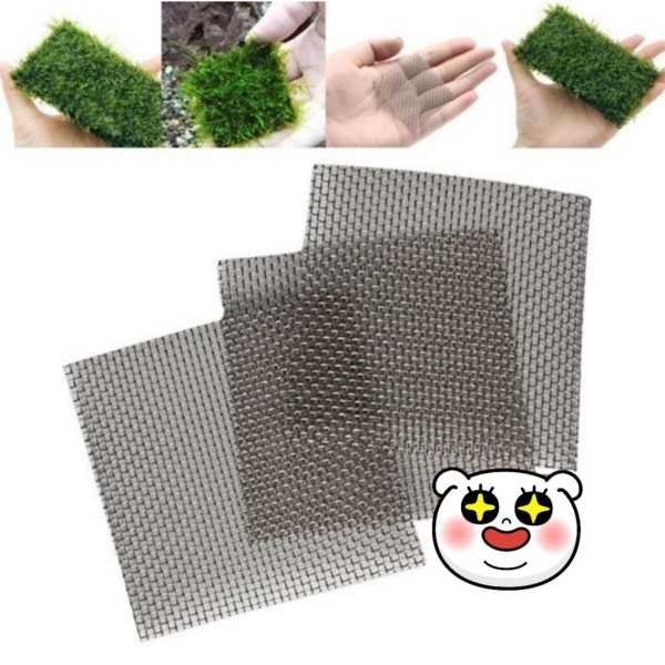 Vỉ cấy rêu inox 304- vỉ trồng rêu 8x8cm và 8x20cm