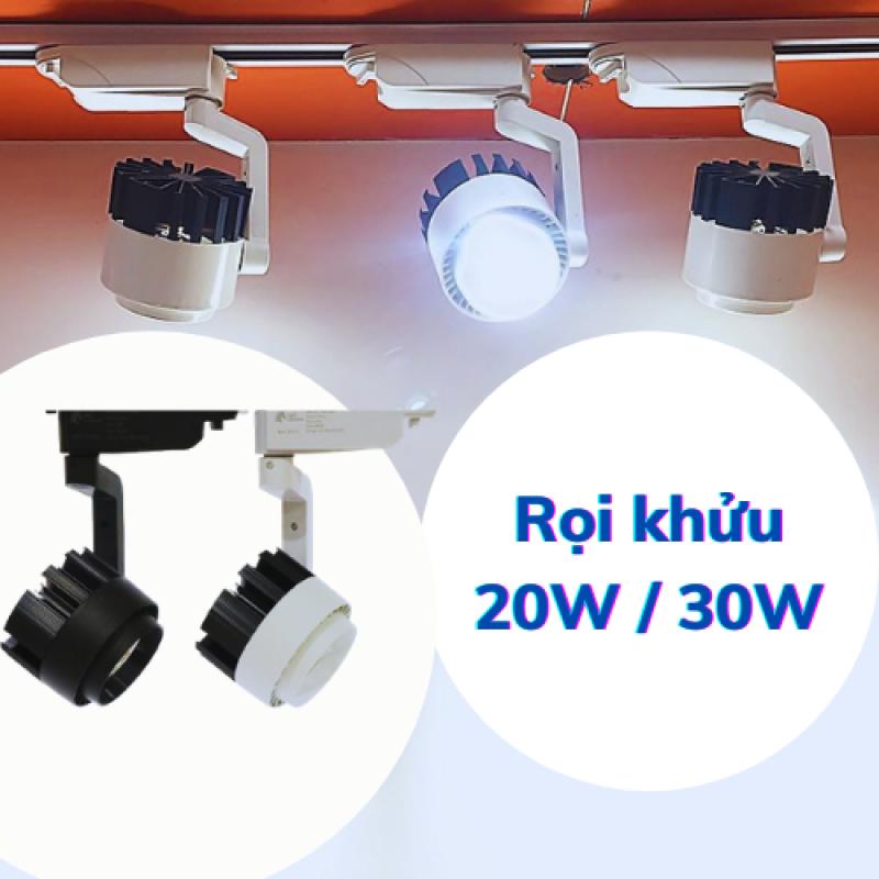 Đèn rọi khuỷu chính hãng siêu sáng, 20w - 30w vỏ đen, trắng, giá tốt, bảo hành 1 đổi 1 -  Đèn Led 24h