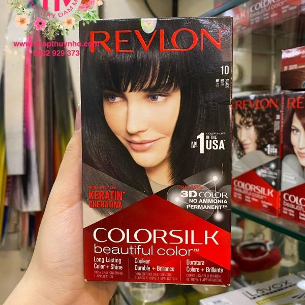 Thuốc nhuộm tóc Revlon ColorSilk số 10 - Đen