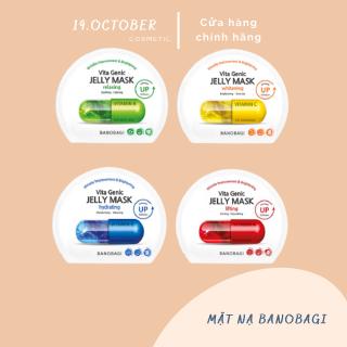 Mặt Nạ Giấy Banobagi Vitamin cấp ẩm dưỡng da Hàn Quốc Đủ Loại ( Vitamin A, B, C, E ) thumbnail