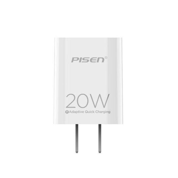 Cốc sạc Pisen 20W Cổng TypeC PD 3.0 QC 4.0 AFC FCP Huawei