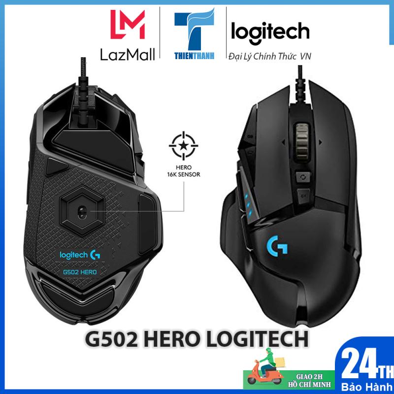 Bảng giá Chuột Chơi Game Logitech G502 Hero - Chính hãng phân phối Phong Vũ