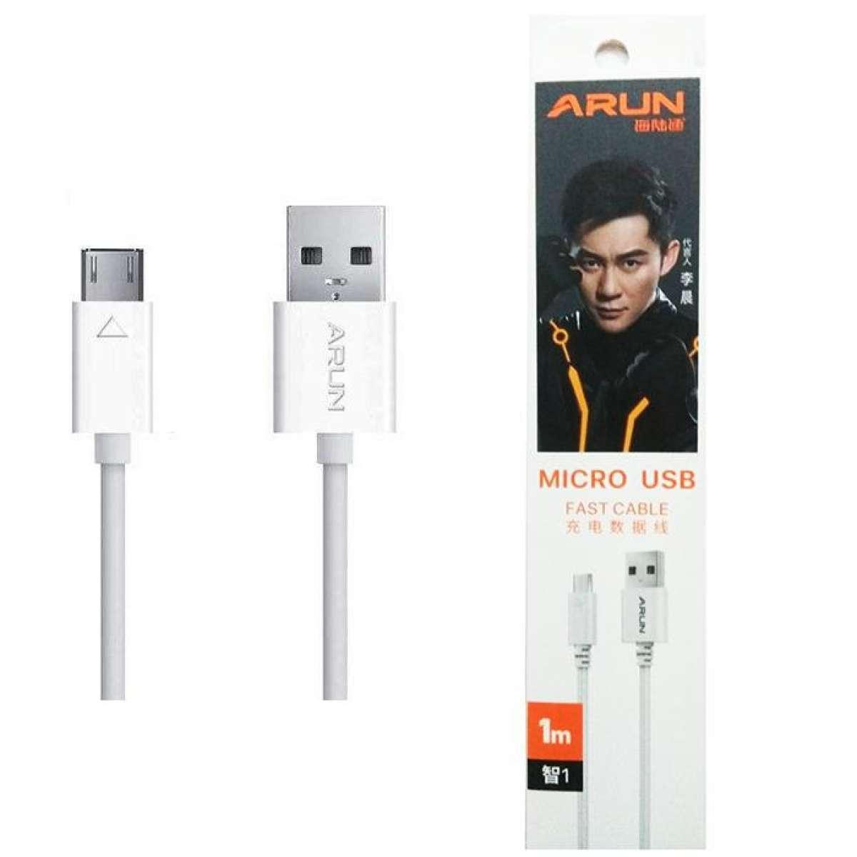 Giá Cáp sạc Arun Micro USB dành cho Các Dòng Android dài 1m_Dây Chính Hiệu Sạc Nhanh_ít Lỗi