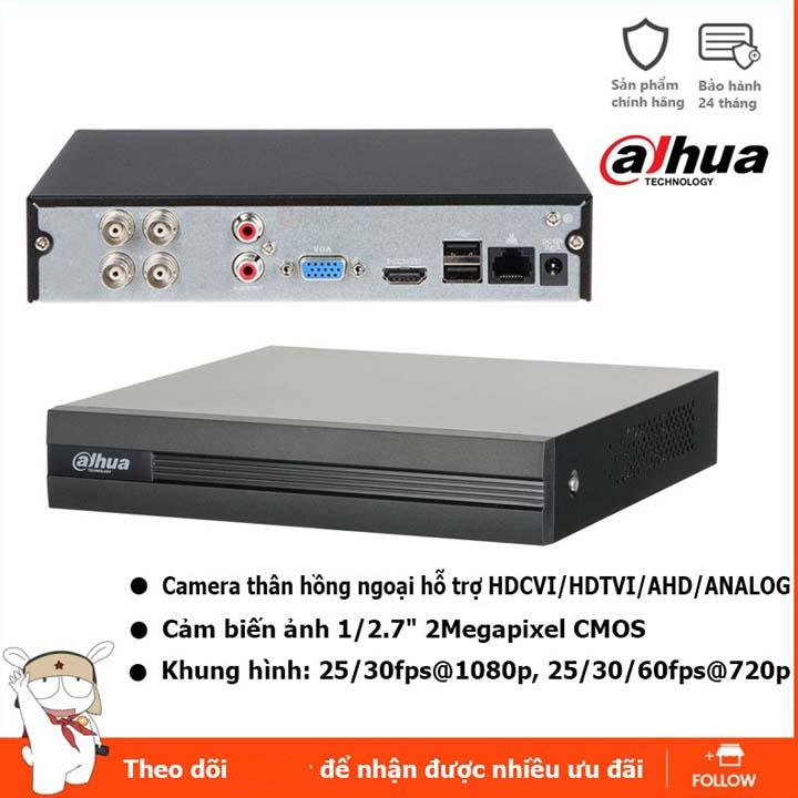Đầu ghi hình camera 4 kênh 960P 1080N Dahua DH-XVR1A04 DSS Việt Nam