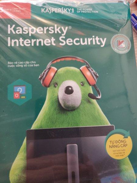 Bảng giá Phần mềm diệt virut kaspersky internetsecuriy 3PC 2020 Phong Vũ