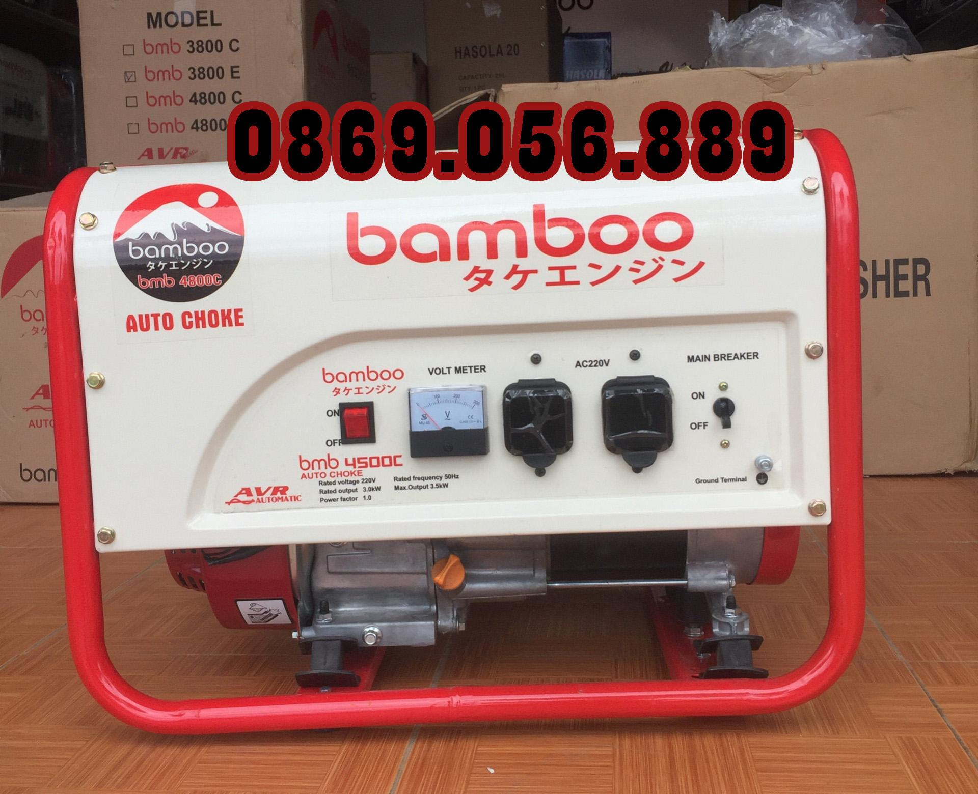 Máy phát điện Bamboo BMB 4800C