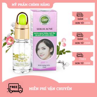 Serum Ngừa mụn thâm - Giữ ẩm - Se khít lỗ chân lông Serum Acne SPF+++ Miền Thảo Mộc (10ml) thumbnail