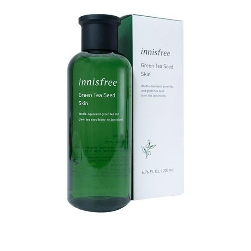 Nước hoa hồng Innisfree Da Khô Green Tea Seed Skin  - 8809612852715 giá rẻ