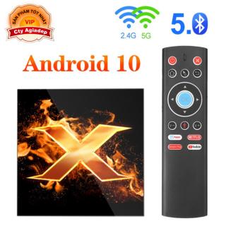 TVbox Android 10 Hỗ trợ điều khiển giọng nói + Bluetooth Giormani Vonta X1 thumbnail