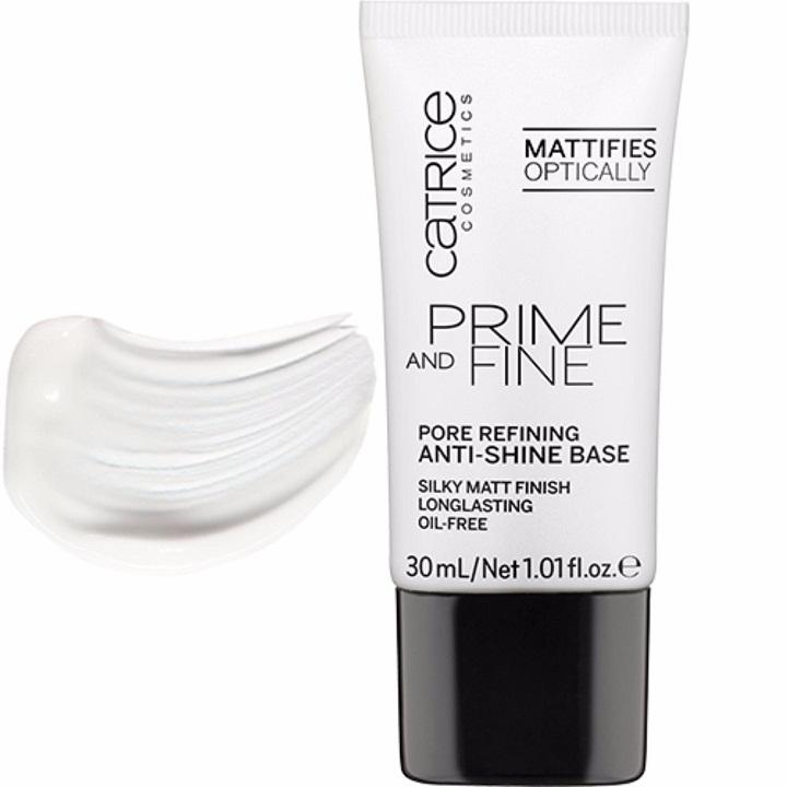 Kem Lót Catrice Prime and Fine Pore Refining Anti-Shine Base 30ml tốt nhất