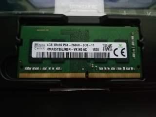 Ram laptop 4GB PC4-2666, Ram Laptop DDR4-2666 4GB, Ram laptop 4GB DDR4 bus 2666. thumbnail
