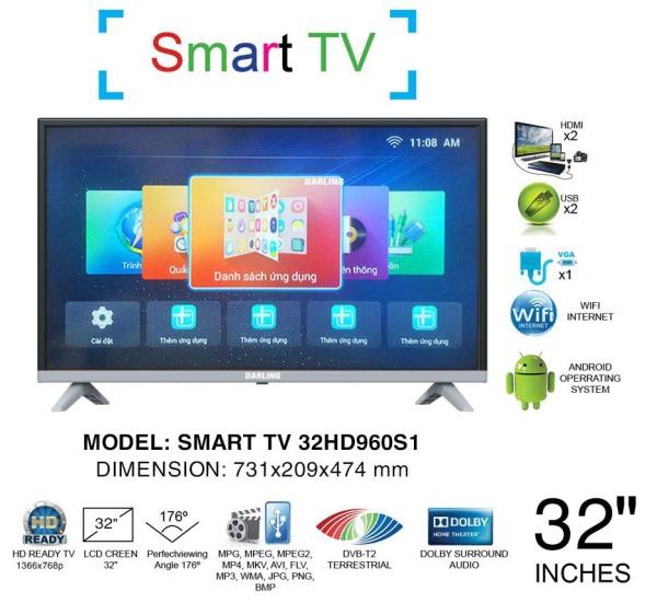 Bảng giá TV LED DARLING 32HD960S1