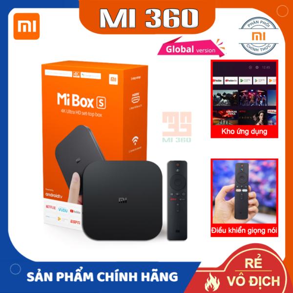 Bảng giá MiBox S Xiaomi 4K Android TV✅ Điều Khiển Bằng Giọng Nói✅ Bản Quốc Tế Chính Hãng