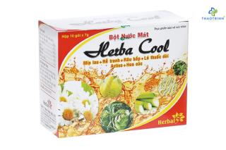 Bột nước mát HERBA COOL (Hộp 10 gói) thumbnail