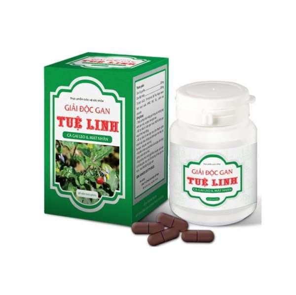 Giải độc gan Tuệ Linh - Tăng cường chức năng gan (Chai 60 viên)