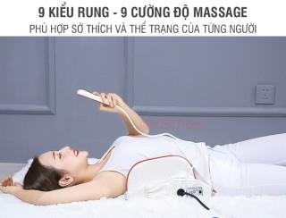 Đệm massage lưng rung nóng nhiệt hồng ngoại YIJIA YJ-M4 6