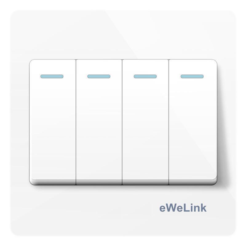 Công Tắc Âm Tường L7-118OF4 eWeLink 4 Nút Nhấn giá rẻ