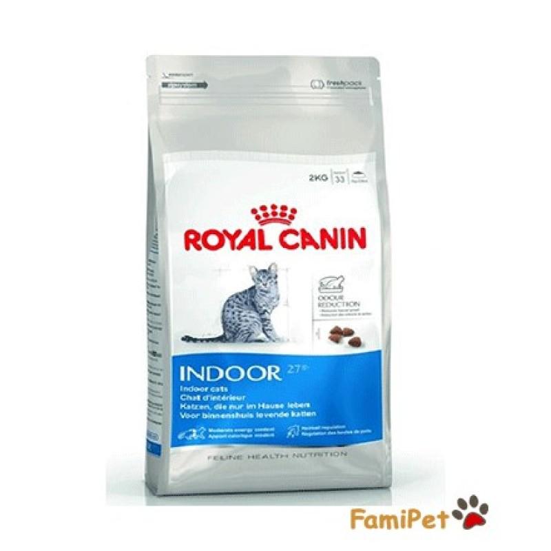 Hạt Thức Ăn Cho Mèo Royal Canin Indoor 27 - Túi 2kg