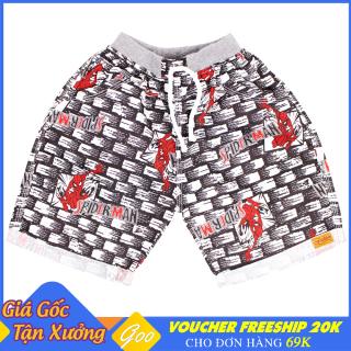 Quần short Kaki Sprider Man bé trai từ 7-21kg - Vải Kaki thoáng mát [ ẢNH THẬT 100% DO SHOP CHỤP ] thumbnail