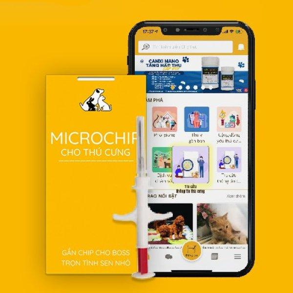 MICROCHIP ĐỊNH DANH THÚ CƯNG