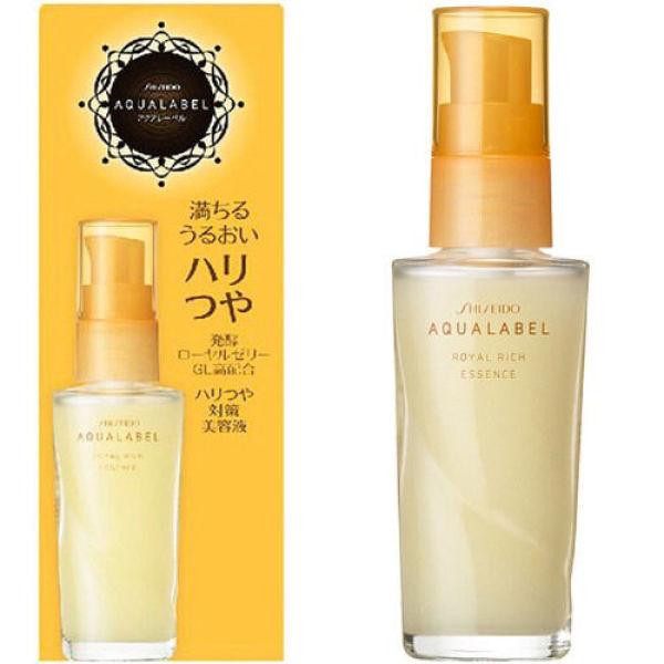 Tinh chất dưỡng da mặt Shiseido Aqualabel Royal Rich Essence 30ml-Japan nhập khẩu