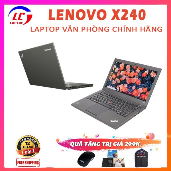 Bảng giá Laptop Văn Phòng Giá Rẻ Lenovo Thinkpad X240, i5-4300U, VGA Intel HD 4400, Màn 12.5 HD, Laptop i5, Laptop Lenovo Phong Vũ