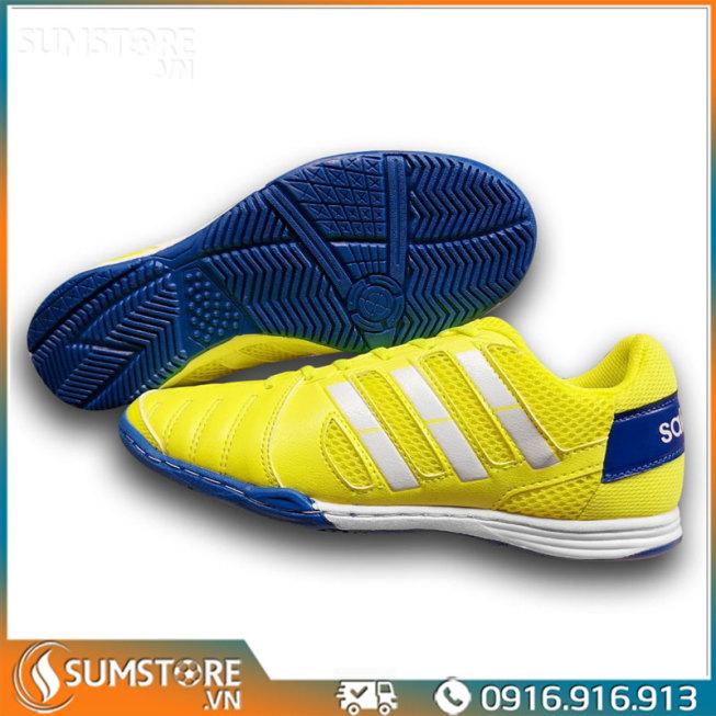 Giày Đế Bằng Đá Banh Futsal Winbro Sala Xanh Chuối - Giày Đá Bóng Mới 2021 (Tặng Kèm Vớ) giá rẻ