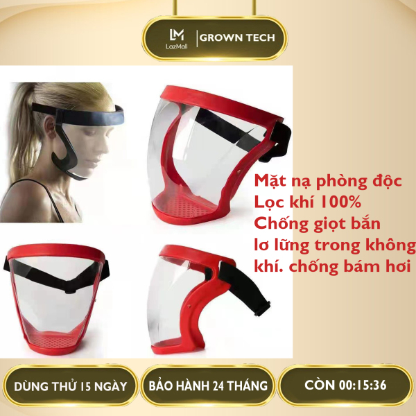 Mặt nạ phòng dịch kính che mặt trong suốt chống bụi chống giọt bắn , mặt nạ phòng độc lọc khí trong suốt bảo vệ mặt chống bụi, tia uv chống tia uv 2021