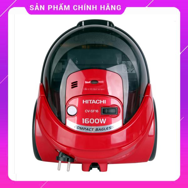 [CHÍNH HÃNG] MÁY HÚT BỤI HITACHI CV-SF16 giá rẻ chất lượng Nhật dung tích 0.6L, thiết kế nhỏ gọn, hiện đại, công suất lớn, 2 đầu hút tiện dụng