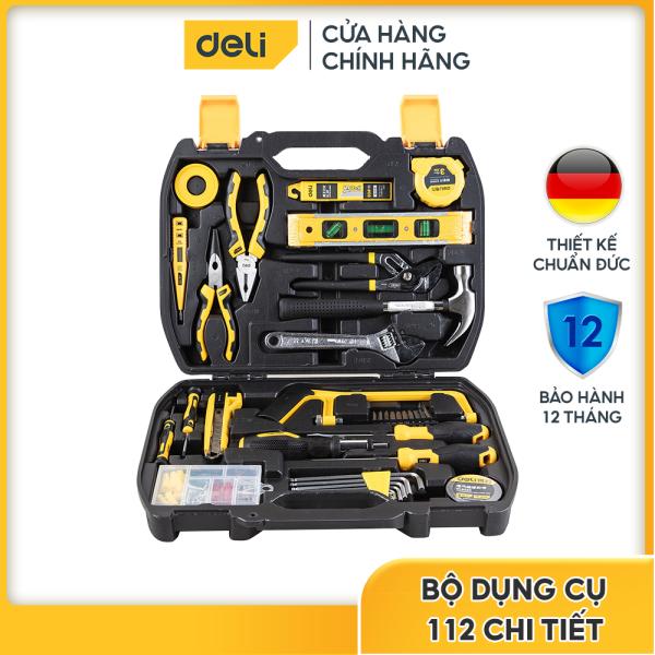 Bộ dụng cụ sửa chữa đa năng 112 chi tiết Deli DL5965 - Cam kết chính hãng - Bảo hành 12 tháng 1 đổi 1
