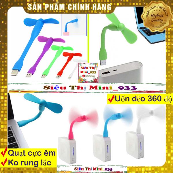 Bảng giá Quạt mini 2 cánh cắm USB thiết kế cầm tay 2 cánh rời cute màu ngẫu nhiên Phong Vũ
