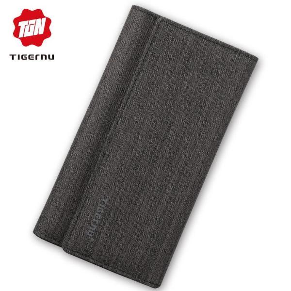 Ví cầm tay dài thương hiệu Tigernu cho nam thời trang 8080 - INTL