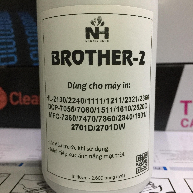 Mực Nạp Máy In Brother TN-2280/ TN-2385/TN1010/TN-B022 Dùng Cho TẤT CẢ máy in trắng đen Brother như: HL-L2321D HL-L2361DN 2366DW 2520D 2701DW 2240D 1111 15161916…Loại Mực Laser Trắng Đen Giúp Bản In Đậm Sắc Né