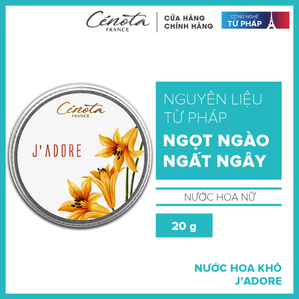 Nước hoa khô  Je Tadore 20ml Cenota nhập khẩu