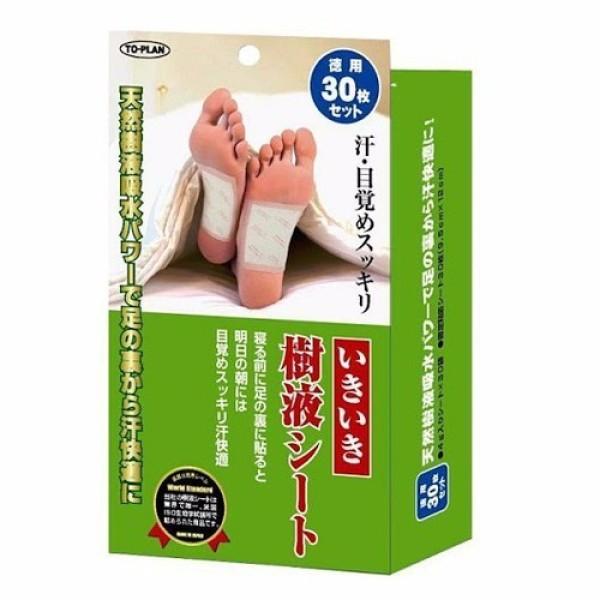 Miếng Dán Thải Độc Chân To-Plan Kenko Sheet của Nhật Bản hộp 30 miếng