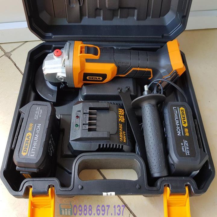 máy mài cắt DERA 2 pin 20V -DKW2094A