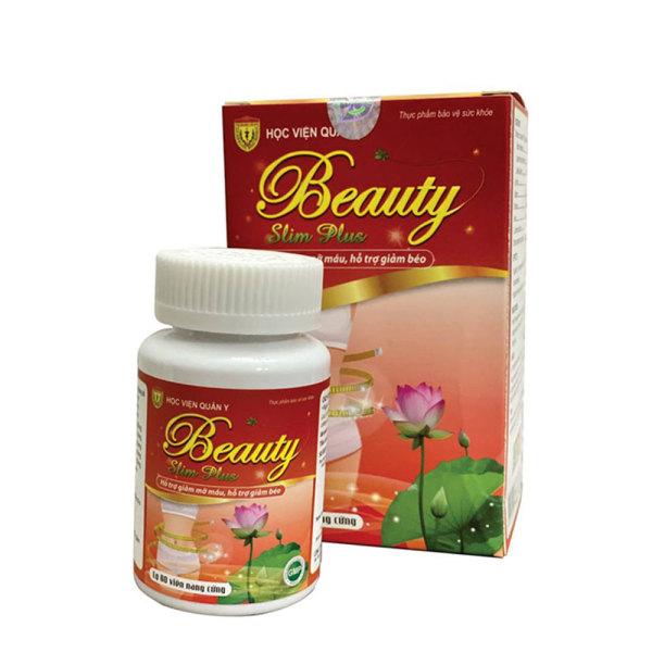 Viên uống Beauty Slim Plus Học Viện Quân Y Hộp 60 Viên - Giảm cân Đẹp da giá rẻ