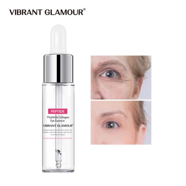 VIBRANT GLAMOUR Tinh chất dưỡng mắt Collagen chống lão hóa bọng mắt xóa quầng thâm 15ml - INTL