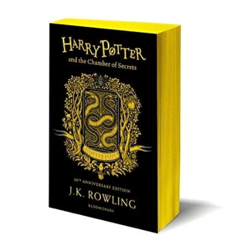 Fahasa - Harry Potter And The Chamber Of Secrets – Hufflepuff Edition (Paperback) + Quà Tặng