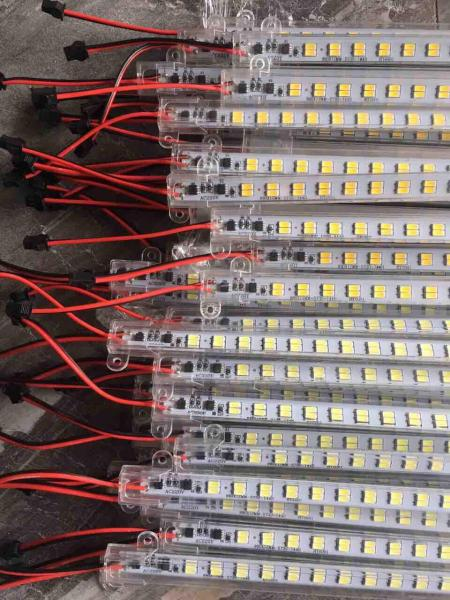 Led thanh 5730 điện áp 220v 2 hàng bóng-1m