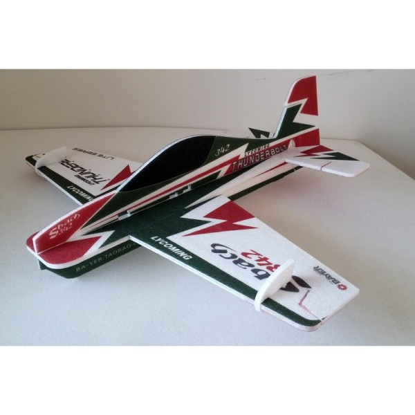 Kit máy bay mô hình 3d SBACH342 EPP 9MM