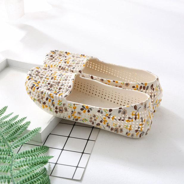 giày nữ- giày nhựa nữ  hoa mềm dẻo đi mưa, đi biển, đi chơi công sở đi làm - Chất liệu siêu nhẹ, siêu dẻo-dn1 giá rẻ