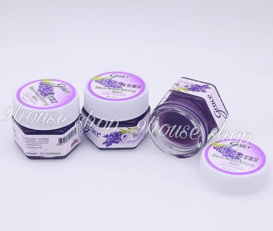 01 Hủ Dầu Cù Là Giúp Ngủ Ngon Grace Lavender Thái Lan 20gram