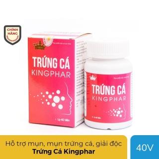 Viên uống Trứng Cá Kingphar -Hỗ trợ giảm mụn nhọt, trứng cá, dị ứng, tiêu viêm , mẩn ngứa do suy giảm chức năng thải độc của gan thumbnail