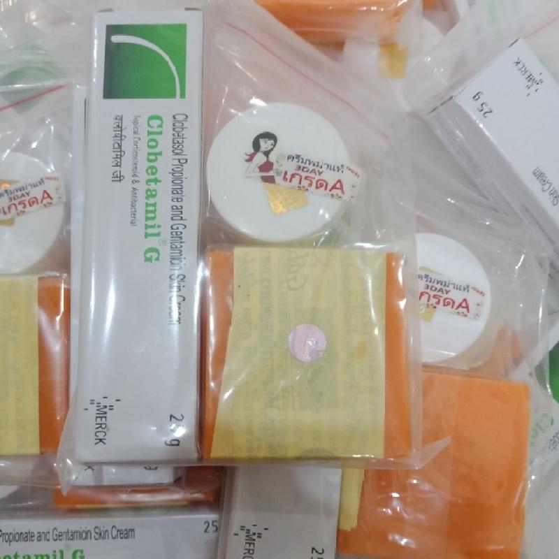 Bộ 3 món Giảm Nám Tàn Nhang Clobetamil G Thái Lan giá rẻ